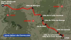 14ème étape passant par Valsonne