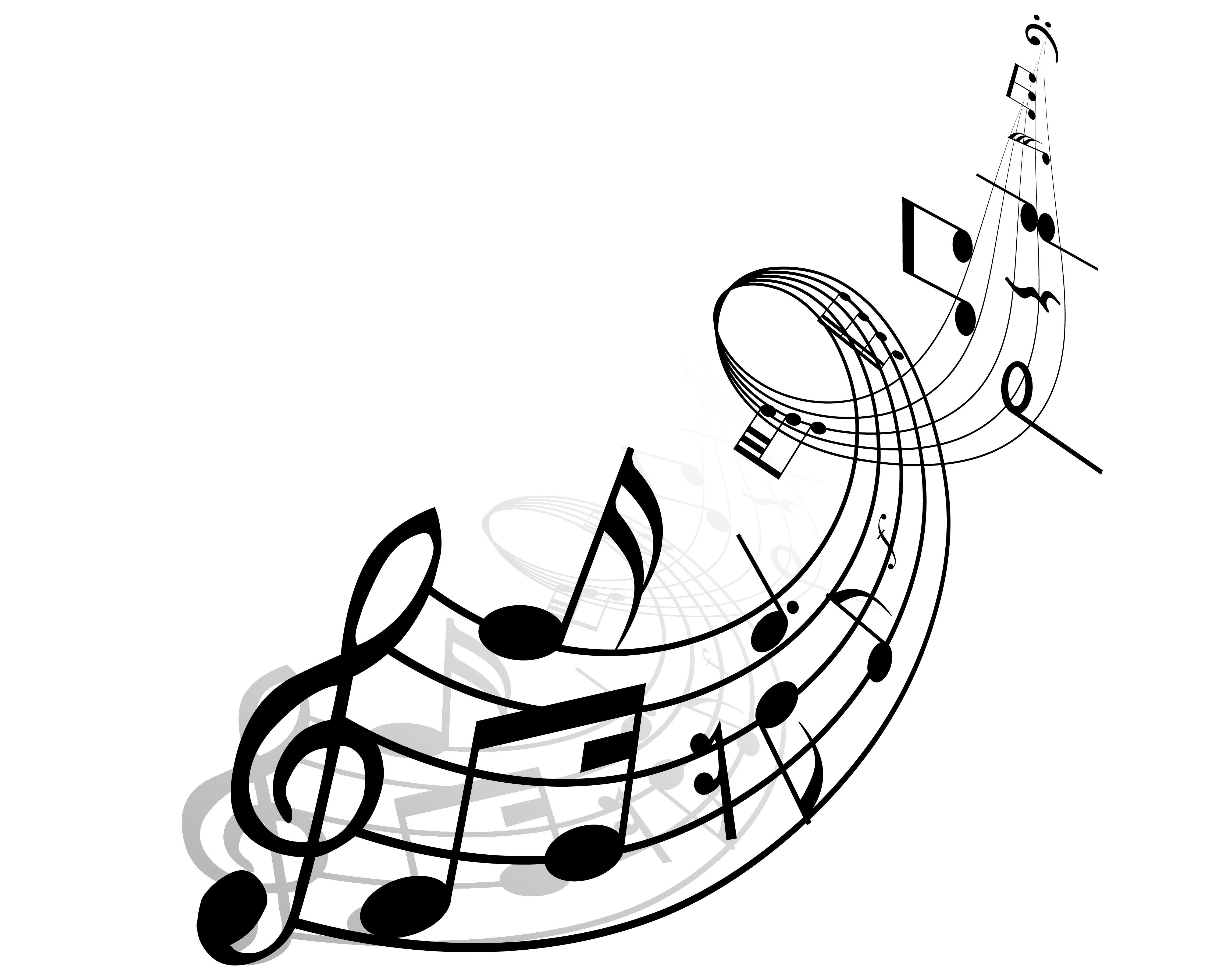Line Art Music Notes : Fête de la musique à valsonne vivre